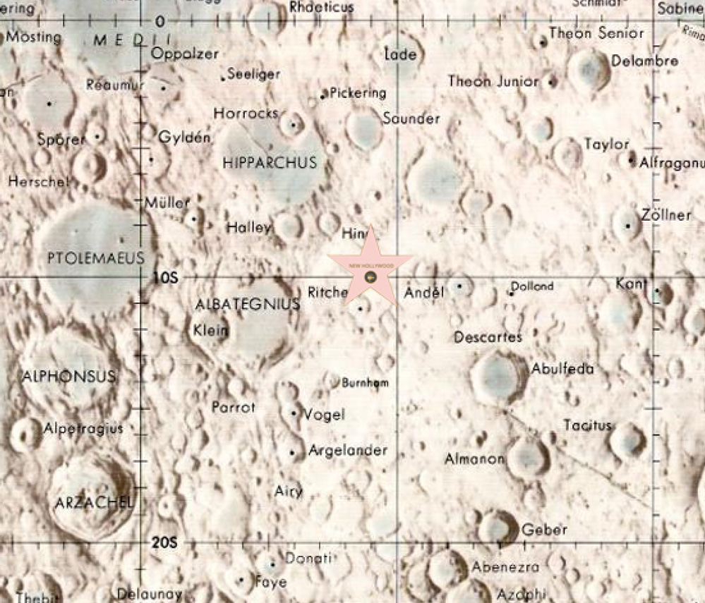 Map of New Hollywood, Luna