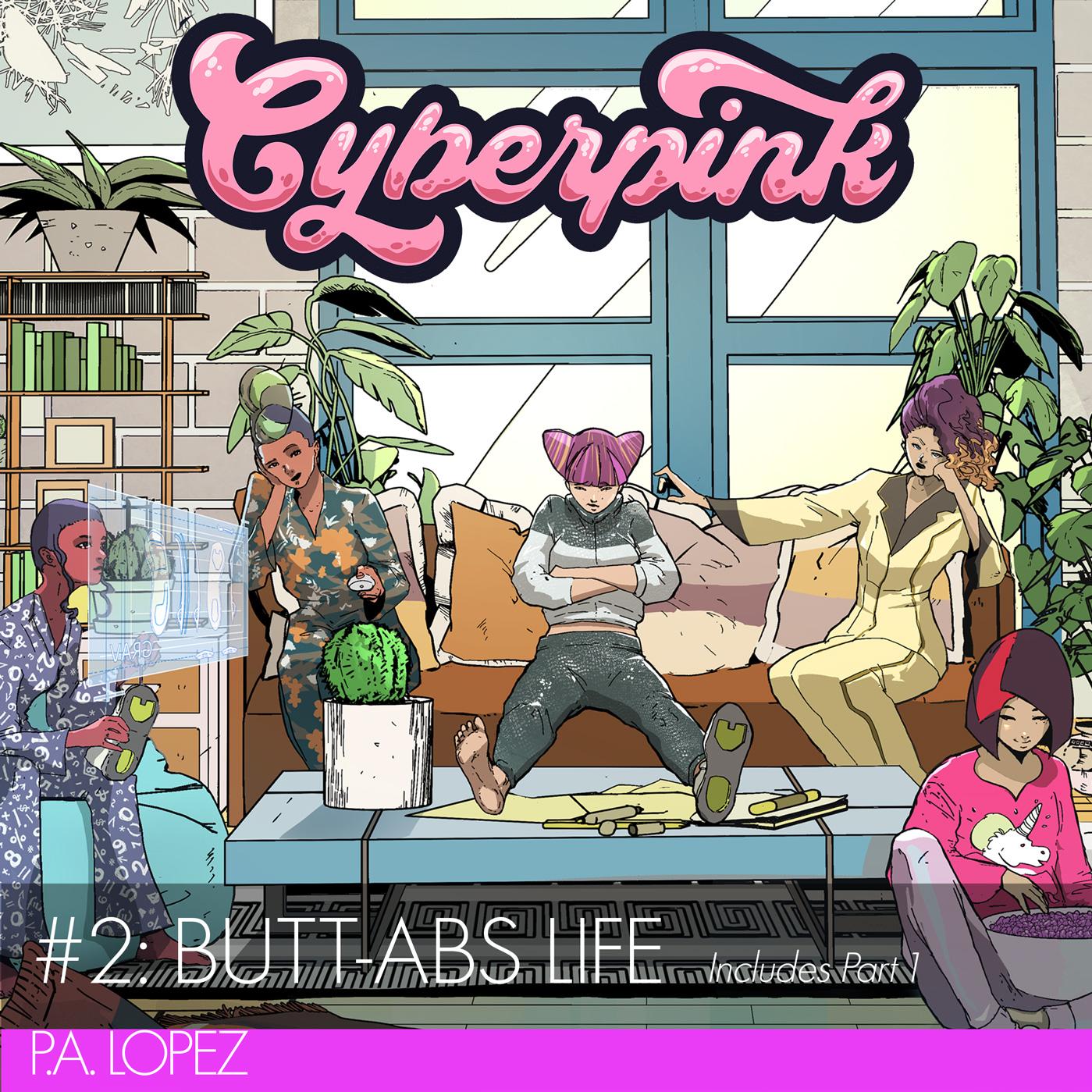 Cyberpink 2 audiobook cover