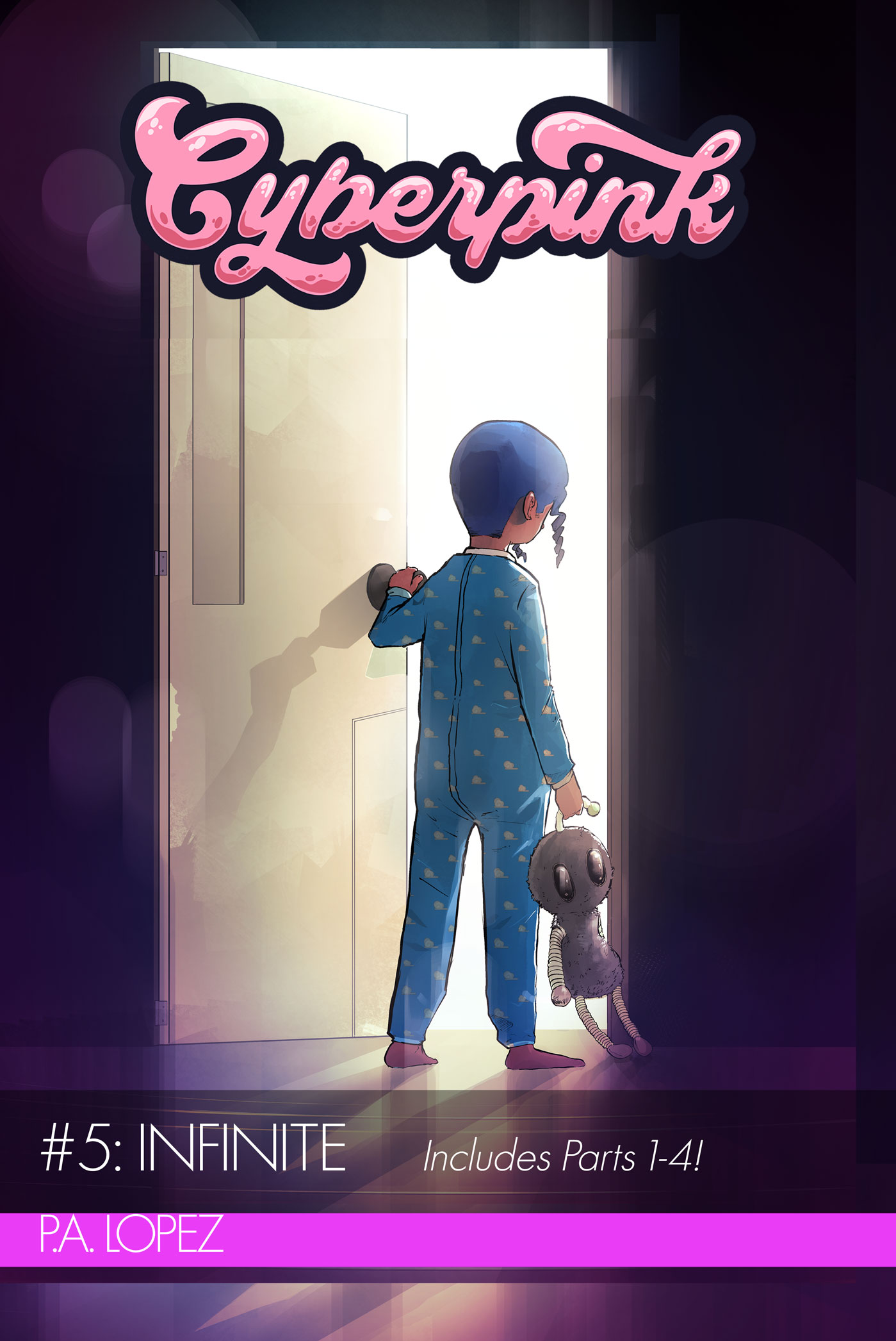 Cyberpink 5 Cover A